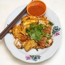 Orh Luak A plate of Oyster Omelette goes a long way!