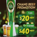 Chang draught Beer Promotion!!