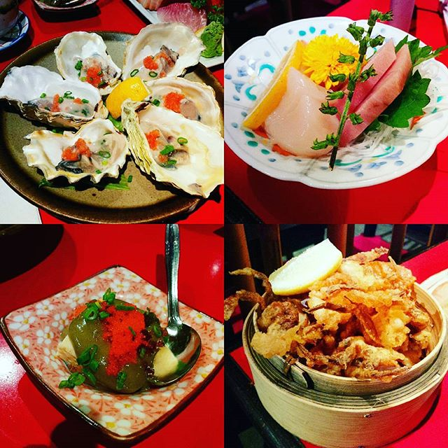 For a delicious variety of Fresh Oysters, Crab Roe Tofu, Sashimi, Tempura and Hotpot etc; for a thoughtful selection of Japanese ala carte buffet divided into Classic, Premium and Gourmet 👉 check out Kushi Bar (review out on blogsite, click active link in bio)  Have a beautiful weekend my dears 💋