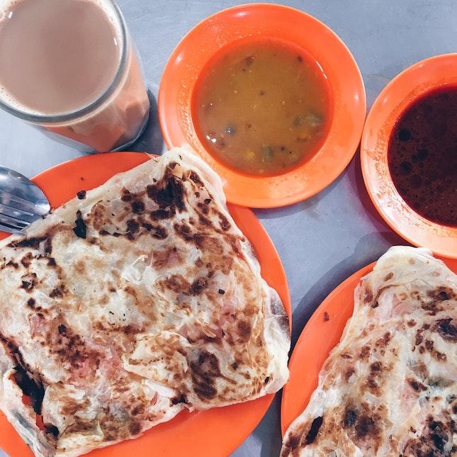 Crispiest Roti Canai in Klang