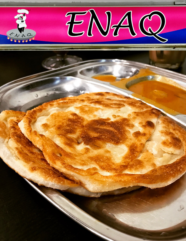 For Crisp & Fluffy Prata