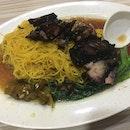 Black Char Siew Noodle ($5)