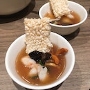 Crispy Rice Bubble With Seafood ($28 For Small)