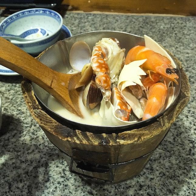 Jiangnan Seafood Bucket $16.80