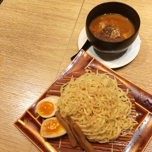 Rich Dried Sardine Tsukemen $16