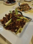 Green Onions Stir Fried Wagyu 22++ I Think