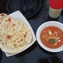 Garlic Naan And Butter Chicken(Michelin Guide Street Food Festival 2018)