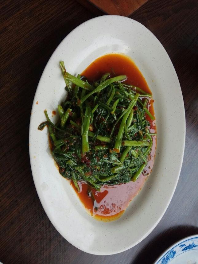 Kangkong Stir Fried W Sambal
