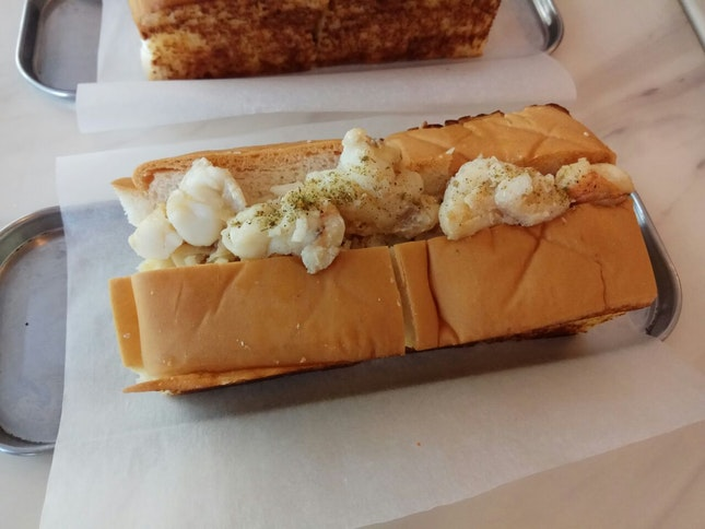 Seafood Roll Maine Style (Used Burpple Beyond)