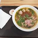 Spicy Beef Noodle Soup 11.5nett +Beef Slices 2.5nett