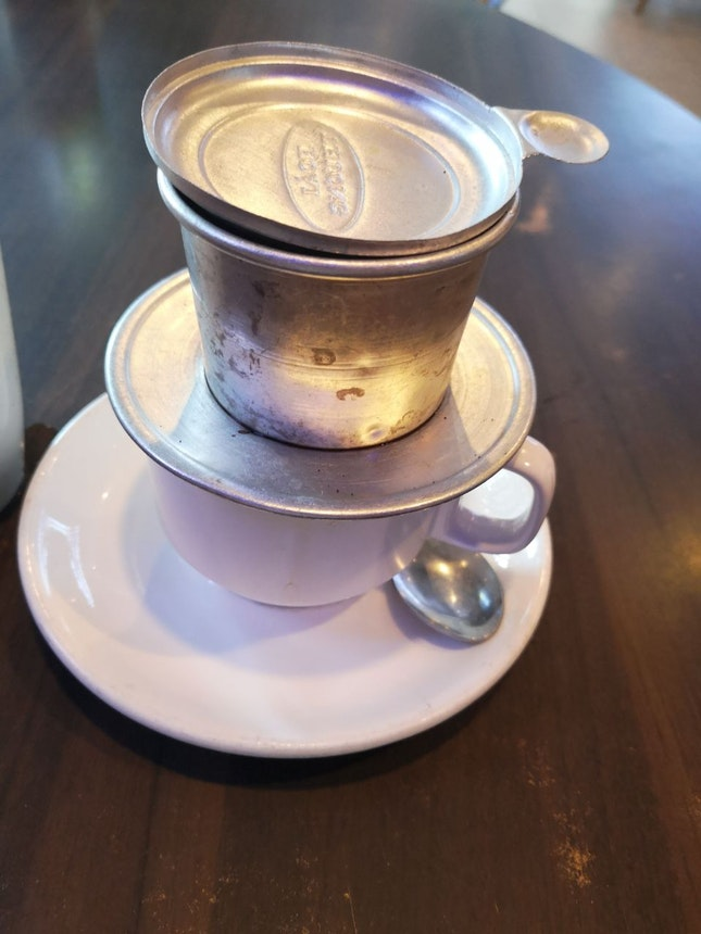 Cafe Sua Nong Hot Milk Coffee 4nett