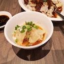 酸辣抄手 Minced Meat Dumplings W Sour And Spicy Broth 4 Pcs For 6++
