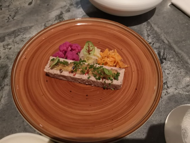 Starter Iberico Pate(entree Du Jour/Daily Special)(Restaurant Week Lunch 68++)