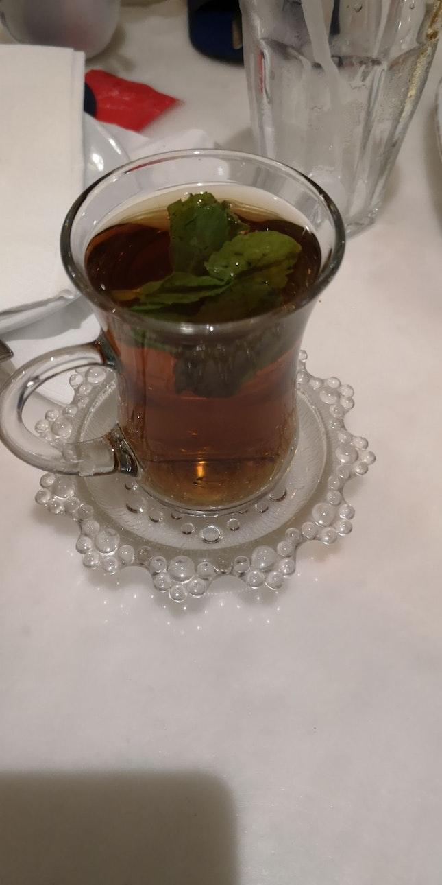 Mint Tea On The House