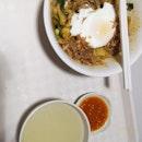 Mee Hoon Kway 3nett Add On Meat +1 Add On Egg +0.5 (Liang Kee Banmian)