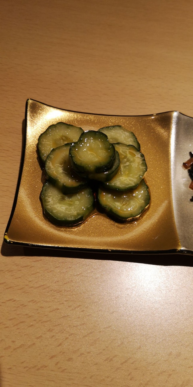 Marinated Cucumber (Complimentary)