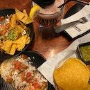 tacos, burrito bowl, & sexy sanchez