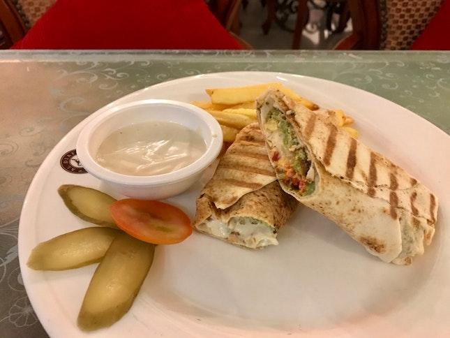 Falafel Sandwich (RM12)