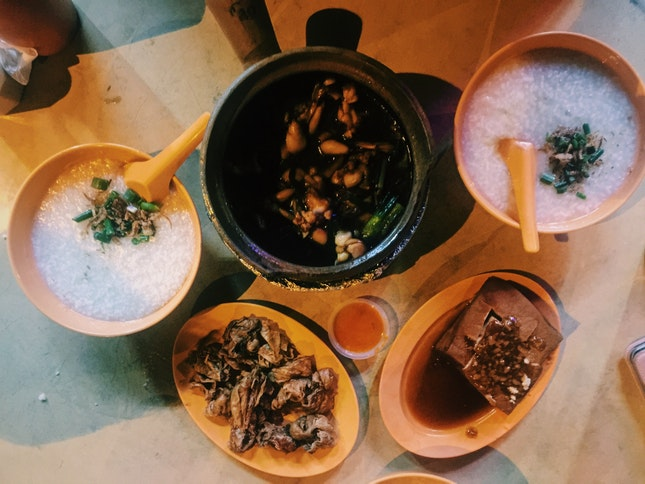 Frog Legs Porridge