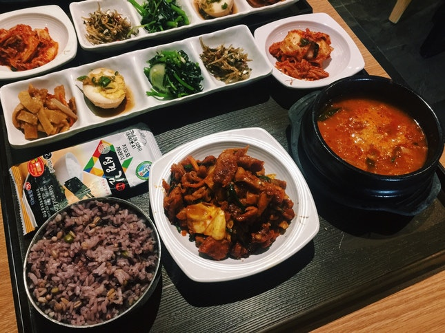 DIY Korean Lunch Set