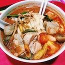 Tom Yum Chicken Ban Mian