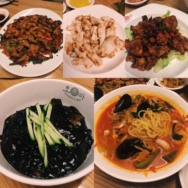 Korean-Chinese Food