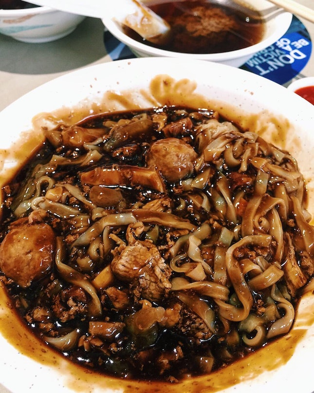 Dry Mixed Beef Noodles With Beef Tendons