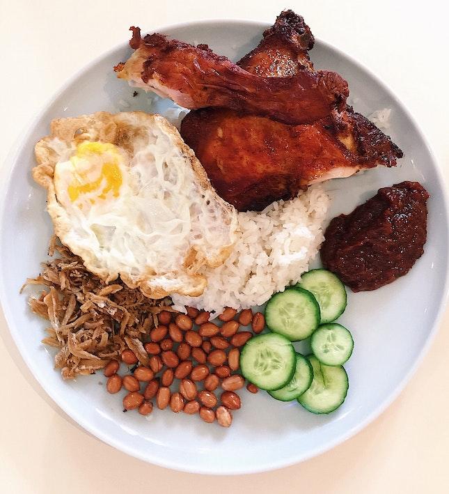 Nasi Lemak Ayam Goreng Berempah