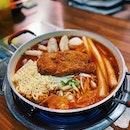 Pork Cutlet Tteokbokki