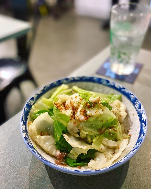 Ugly Cabbage in Fish Sauce