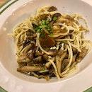 Mushroom Aglio-Olio