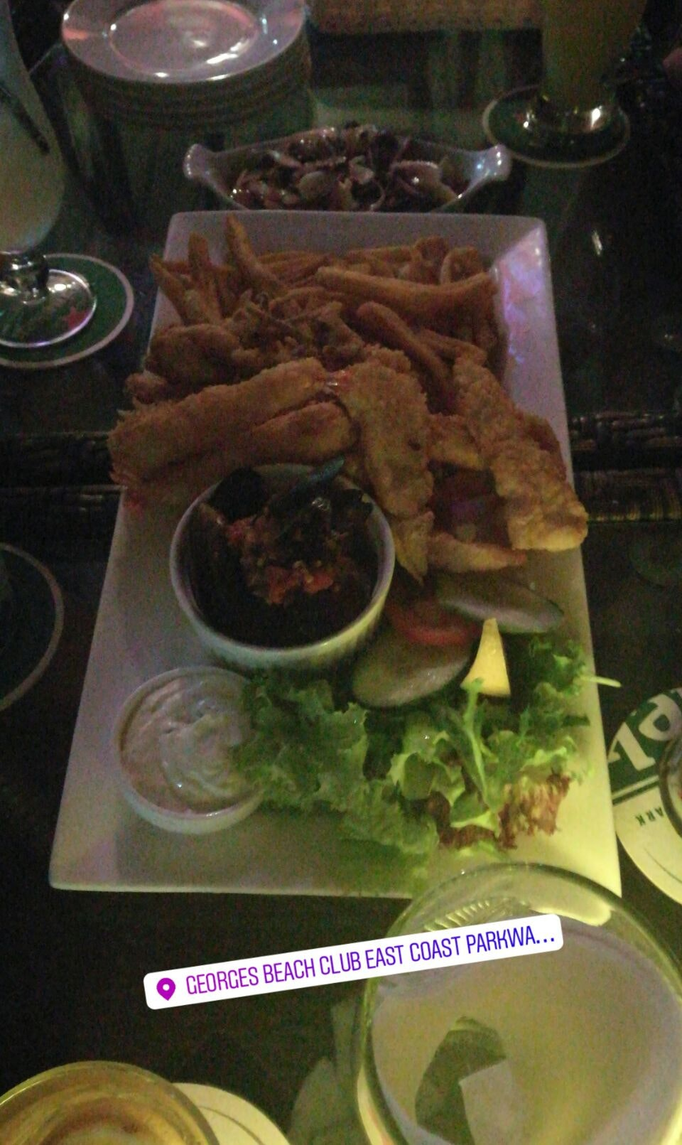 $20 Platters For 4 Person @ George