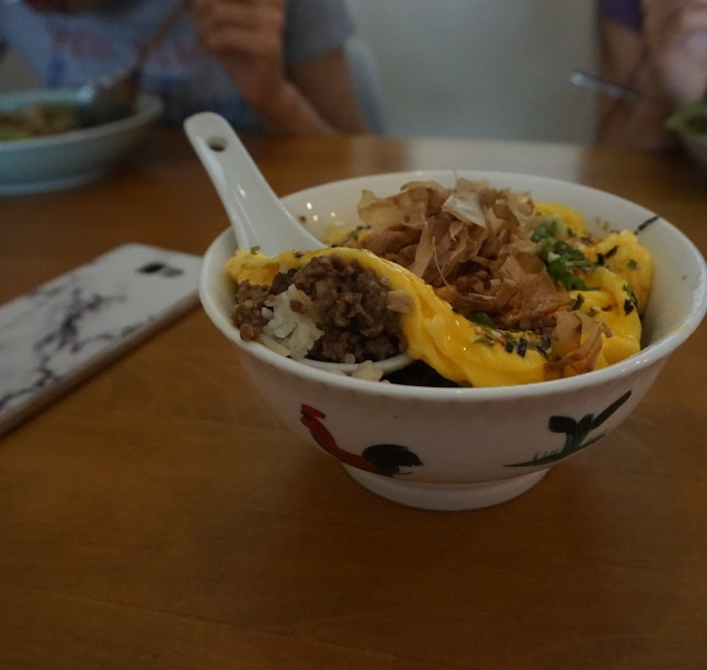 Mince Pork Rice Bowl