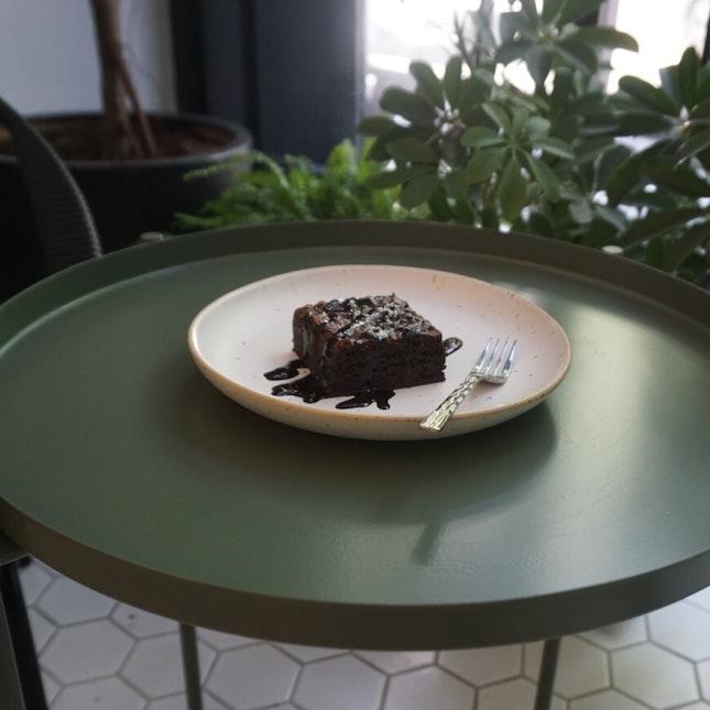 Dark Chocolate Brownie (RM8)