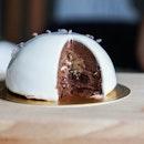 Earl Grey Dark Chocolate Dome (RM16)