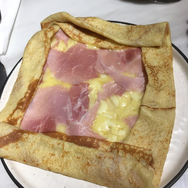 Crepe With Kurobuta Ham