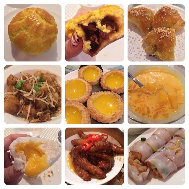 Some of the dim sum which i had yesterday.