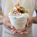 Brought in to Singapore from Melbourne, Frozen By A Thousand Blessings is a frozen yogurt palour where you can DIY your own cup of happiness (of many available toppings), and price is calculated according to the weight.