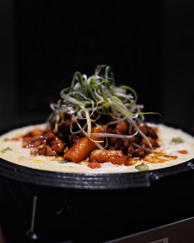 Part of Chir Chir's new menu, this Cheesy Dakgalbi ($32.90) has got to be one of the star dishes here.