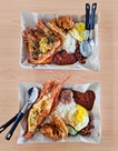 Lobster And Prawn Nasi Lemak