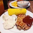 Aston's Hickory Chicken with da best fren @kakamichy #longoverdue #jiakwestern #fluffyunicorn🦄 #2018❤️ #throwback #burpple #burpplesg