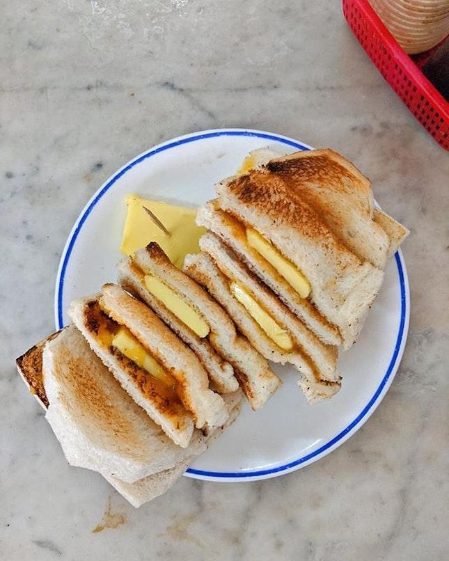 Traditional Toast, Kopi + Butter, Kopi Siu Dai...