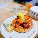 Waffles & Chicken