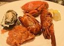Raw seafood.....