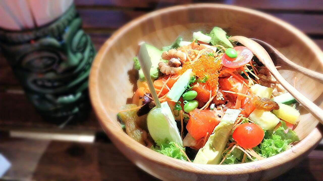 Ultimate Poké Bowl (Spicy Tuna & Original Salmon)