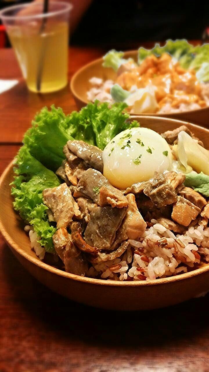 Garlic Shoyu With Brown Rice
