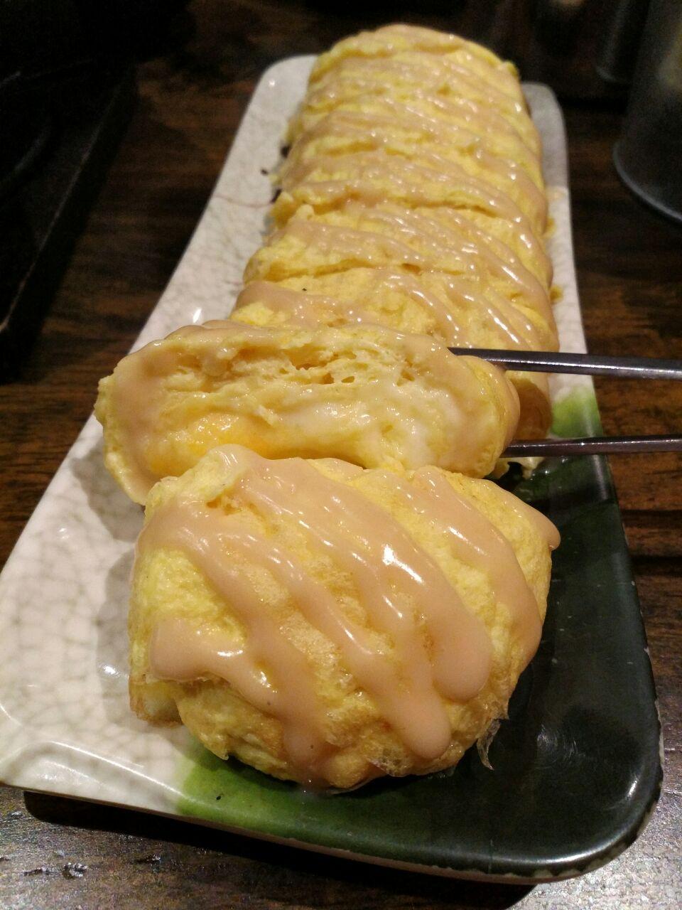 Mustard Cheese Egg Roll ($9.80++)
