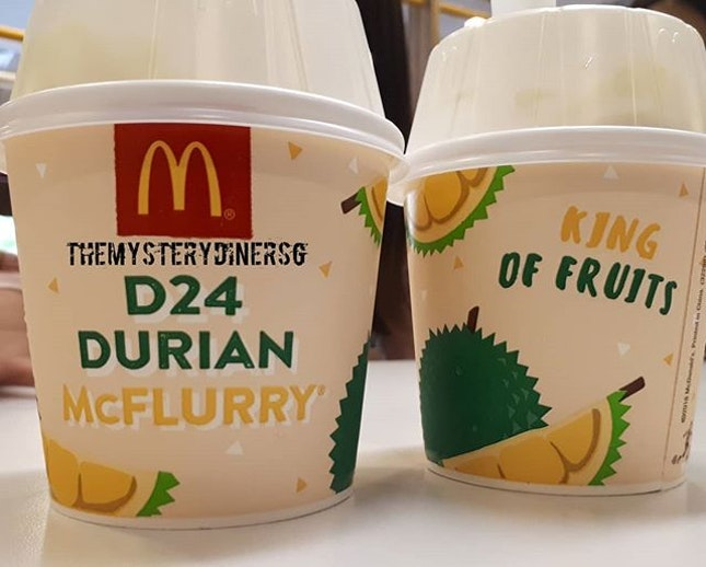 #durian #icecream #dessert #mcdonalds #foodiesg #sgfoodie #foodgram #instafood #foodporn #foodie #burpple #sgeats #singapore
