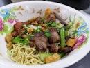 Original Thai Wanton Noodles (Jumbo Size: $6.50)