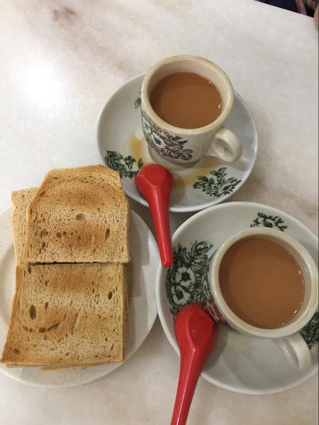 Traditional Kaya Butter Toast